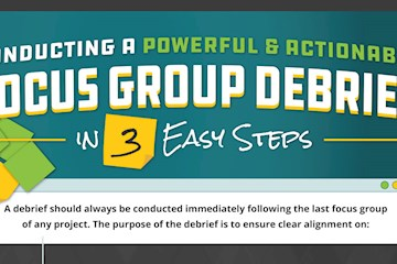 Conducting A Powerful And Actionable Focus Group Debrief