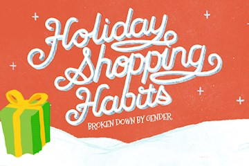 Holiday Shopping Habits of Men & Women